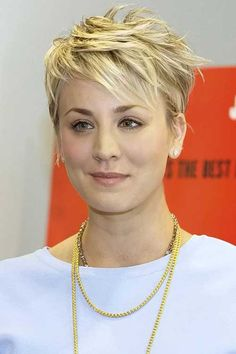 Kaley Cuoco Haircuts