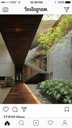 House HNN designed by Hernández Silva _______ - Architecture and Home Decor - Bedroom - Bathroom - Kitchen And Living Room Interior Design Decorating Ideas - Architecture Design Concept, Interior Architecture, Windows Architecture, Tropical Architecture, Garden Architecture, Building Architecture, Victorian Architecture, Architecture Student, Patio Interior