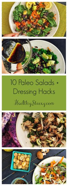 From Lemony Dijon to The Beet Goes On, there are a ton to choose from. And if you get bored, I included a guide for how to make your own + salad dressing hacks. Bon Apetit Paleo heads :)