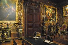 https://flic.kr/p/9ZN6MQ | Chatsworth House | The state music room