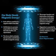 Bio Magnetic Therapy is a growing area of interest in the health care world with great implications to improve human health. Spirit Science, Mind Power, Quantum Physics, Chakra Healing, Health Facts, Spiritual Awakening, Natural Healing, How To Stay Healthy, Magnets