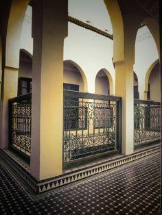 Arches in Riad Aguaviva