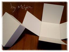 Mini Explosionsbox weiß