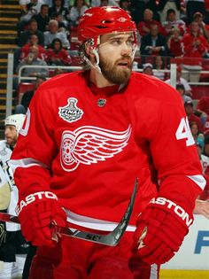 @Detroit Red Wings' Henrik Zetterberg. #RedWings