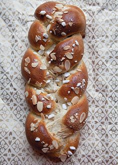 I love the Cardamom spice and can't wait to try this recipe!!  Braided Cardamom Bread (Pulla) Recipe - Saveur.com