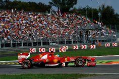 Ferrari's Alonso at Monza - 2013