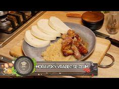 Moravský vrabec se zelím a knedlíkem! To snad není možné! Ta chuť je prostě báječná! Nejlepší recept - YouTube Grains, Good Food, Dairy, Food And Drink, Pork, Menu, Rice, Cheese, Recipes