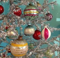 Image result for vintage christmas decorations 1950's