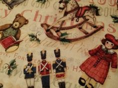 Susan Winget Victorian Treasure Christmas Fabric by FabricMuse