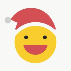Round yellow Santa with grinning face emoticon on transparent background vector | premium image by rawpixel.com / wan Merry Christmas Sign, Christmas Icons, Christmas Stickers, Christmas And New Year, Hand Sticker, Phone Stickers, Beige Background, Transparent Stickers
