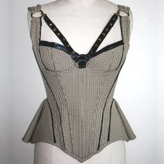 https://www.etsy.com/listing/164794308/country-check-corset-with-peplum CurveCoutureCorsetry