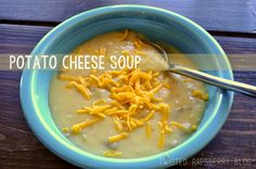 Potato Cheese Soup in the Crockpot