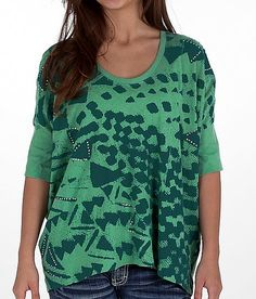Threads 4 Thought Geometric Print Top