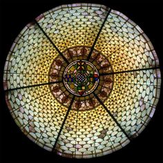 Stained Glass Dome #122