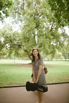 Lisa Hannigan. she makes good music. she also has a cute style
