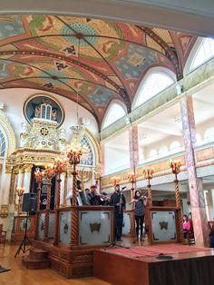 chai by the fjord: Klezmer concert at Sinagoga Justo Sierra