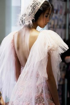 Chanel Couture   Wow, whom ever the designer team is for Channel,  they too have come a long way...