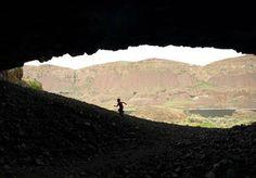 Exploring the Lenore Lake Caves — Washington Trails Association