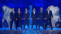 "'Turning Away' – a powerful song by Celtic Thunder characterizes the warrior spirit of the Scotts-Irish as they fought against historical oppression / famine and portrays their  indomitable spirit of resistance against injustice. The song also refers to the Irish Diaspora – the real pain & heartache of having to leave their beloved Emerald Isle and loved ones: ""Our hearts so raw and clear…"" CT tour info:  http://www.celticthunder.ie/tour (Celts, Celtic, history)"