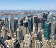 View from above the Empire State Building