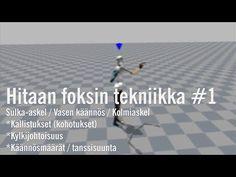 (1) Hitaan foksin tekniikka #1 /kyljet - YouTube