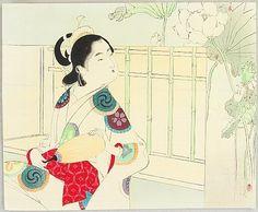 Matsushima Ukiyo-e Do You Want To Buy Some Chinese Native Produce? Fast Deliver Hiroshige Original Japanese Woodblock Print