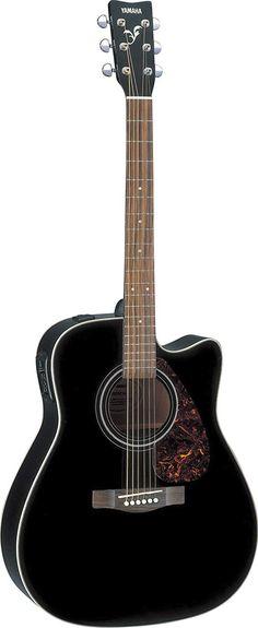 Yamaha FX370CBL - Guitarra acústica, color negro: Amazon.es: Instrumentos musicales Color Negra, Yamaha, Music Instruments, Hardware, Cutaway, Black, Guitars, Colors, Black People
