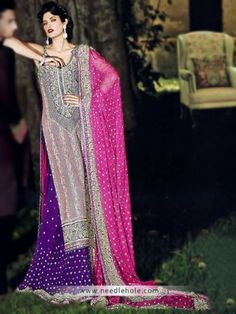 "Pakistani bridal lehenga, wedding lehnga by umar sayeed. Beautiful indian wedding lehngas, bridal dresses and brides dresses collection in usa, uk, saudi arab, canada""/>"