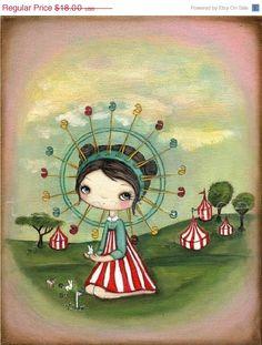 fe9ad25838e2 carnival! Art Journal Inspiration