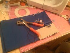 Vorbereitungen zur SnapPap Tasche Wire, Dime Bags, Cable