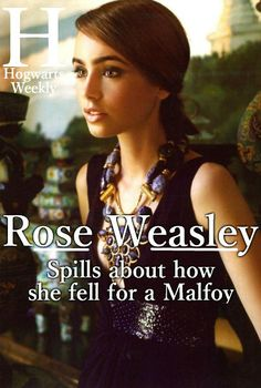 Rose/Scorpius... aside from Hermione/Draco, I think I ship these two the most out of the Harry Potter series.