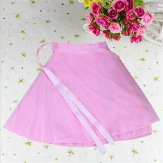 New Short Dance Dress For Girls Training Ballet Costumes Vestido Baile Latino Skirt Jupe Femme Robe De Danse Summer Style Skirts