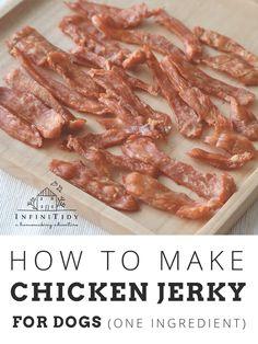 Homemade Dog Treats, Healthy Dog Treats, Dog Treat Recipes, Dog Food Recipes, Dehydrated Chicken, Dog Treats Grain Free, Chicken For Dogs, Chicken Treats, Puppy Treats