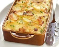Gratin de pommes de terre aux poireaux facile - #light