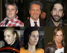 Friends cast today~ Jennifer Aniston never looked better