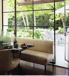 Dining | fabulous window & bench