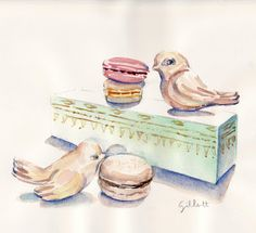 Laduree Macaron Boxes - Paris Breakfasts