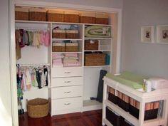 Nursery Closet?? My husband wants to redo the closet in Laney's room...