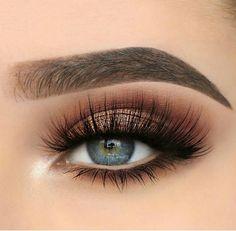 Gorgeous Makeup: Tips and Tricks With Eye Makeup and Eyeshadow – Makeup Design Ideas Makeup Eye Looks, Eye Makeup Art, Natural Eye Makeup, Smokey Eye Makeup, Skin Makeup, Eyeshadow Makeup, Eyeshadows, Makeup Eyebrows, Natural Lashes