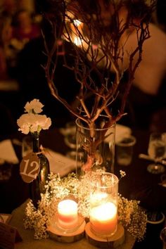 Rustic Elegance Wedding - St Louis, MO.. torn between what i love more.. Rustic themed or red black and romantice..