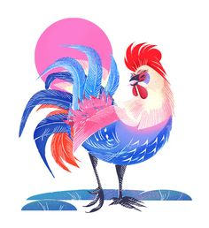 JENN LIV (Jennifer Liu) is an award-winning Chinese Canadian-American freelance illustrator based in Toronto with a focus on creating smart conceptual solutions. Chicken Painting, Chicken Art, Rooster Year, Batik Art, Freelance Illustrator, Cartoon Art, Illustrators, Giclee Print, Illustration Art