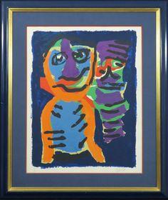 Karel Appel: Litho, Twee beesten