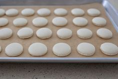 French macarons are a small cookie with a big reputation. A reputation for being beautiful and delectable, and also a reputation for being incredibly temperamental and finicky to make.  The first time I made them, and many times after that, I wasn't sure what all the fear was for. They had always turned out …