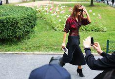 Street Style: Fall 2014 Couture - Christine Centenera