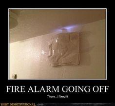 Fire Alarm Fix