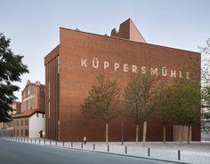 Herzog & de Meuron creates extension to MKM Museum Küppersmühle.