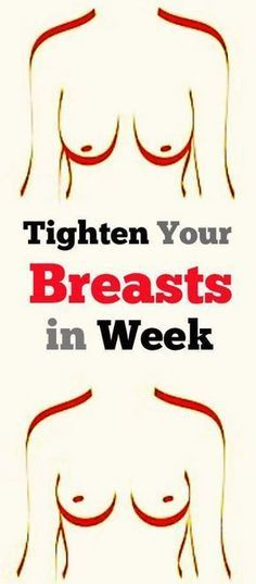 Tested method that will lift your breast and make them firm and perkier -