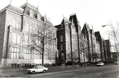 ©091 - Canisius College 1900 + left a new part built in 1930. Architect annex: C.M.F.H Estourgie. In those days it was a boarding school for Roman Catholic boys.