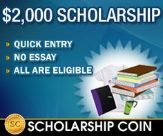 Scholarship Coin Scholarship...Apply here!  #college