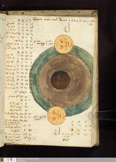 Miscellanea astronomica - Ettenheim-Münster 32 › Tabulae et explicationes motuum caelestium  211 [102r] - Astronomische Zeichnungen - Seite - Handschriften - BLB Karlsruhe